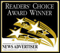 Readers' Choice Award Winner logo